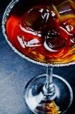 Coctel alcohólico frío Fotografía de archivo libre de regalías