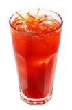 Coctel alcohólico rojo Foto de archivo