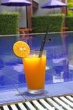 Coctel anaranjado fotografía de archivo libre de regalías