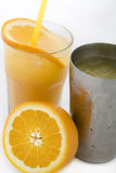 Coctel anaranjado foto de archivo