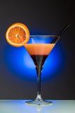 Coctel anaranjado - visión vertical Fotos de archivo libres de regalías