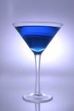 Coctel azul Imagen de archivo libre de regalías