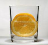 Coctel con la naranja Fotos de archivo