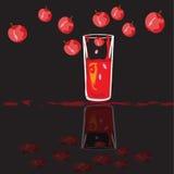 Coctel con sabor a fruta Fotos de archivo libres de regalías