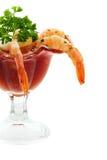 Coctel de camarón Imagenes de archivo