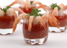 Coctel de camarón Foto de archivo libre de regalías