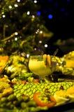 Coctel de camarón y aperitivos imágenes de archivo libres de regalías