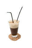 Coctel de Coffe Foto de archivo libre de regalías