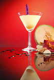 Coctel de la bola de melón Imagen de archivo
