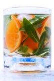 Coctel de la fruta cítrica con la menta Fotos de archivo libres de regalías