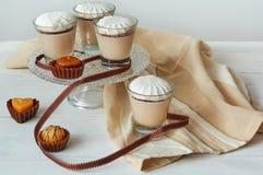 Coctel de la leche Fotos de archivo libres de regalías