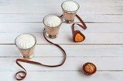 Coctel de la leche Foto de archivo