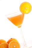 Coctel de la naranja Fotos de archivo