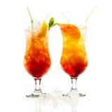 Coctel de la salida del sol del Tequila Imagen de archivo