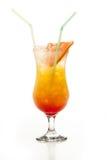 Coctel de la salida del sol del Tequila Fotografía de archivo