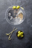 Coctel de Martini Imagenes de archivo