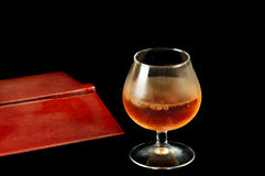 Coctel del alcohol del hielo fotografía de archivo