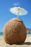 Coctel del coco Imagen de archivo libre de regalías