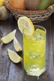 Coctel del limón Foto de archivo libre de regalías