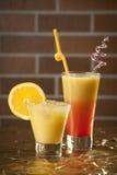 Coctel fresco de la bebida Imagen de archivo libre de regalías
