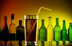 Coctel frío del alcohol Imágenes de archivo libres de regalías
