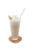 Coctel poner crema de la leche Fotos de archivo libres de regalías
