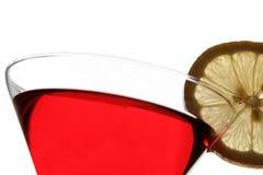 Coctel rojo Imagen de archivo libre de regalías