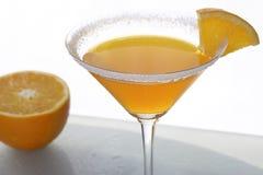 Coctel y fruta cítrica anaranjados 7 Fotografía de archivo libre de regalías