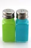 Coctelera de la sal y de la pimienta Imagenes de archivo