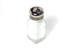 Coctelera de sal aislada Imagen de archivo