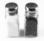 Coctelera de sal y de pimienta Imagenes de archivo