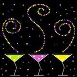 Cocteles del partido Imagen de archivo libre de regalías