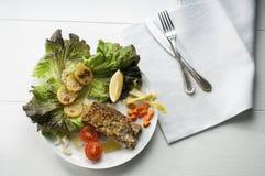 Cod  breaded fillet Stock Images