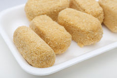 Cod croquettes Royalty Free Stock Image