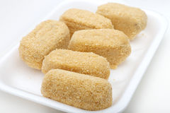 Cod croquettes Stock Photography