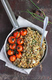 Cod fillet crumble with sesame seeds Stock Photo