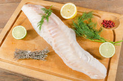 Cod fillet Stock Image