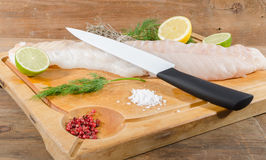 Cod fillet Royalty Free Stock Photography