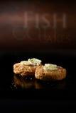 Cod Fish Cakes Royalty Free Stock Image