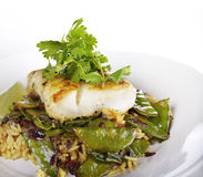 Cod Fish Fillets Stock Photos