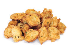 Cod fritters Royalty Free Stock Photography