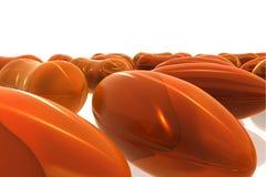 Cod liver capsule Stock Image