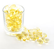 Cod liver oil for healthy Stock Images