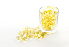 Cod liver oil for healthy Stock Photos