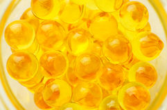 Cod-liver oil Royalty Free Stock Photos