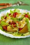 Cod salad Royalty Free Stock Image