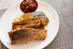 Cod steaks Stock Photography