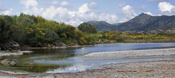 Coda Cavallo, Sardinige royalty-vrije stock fotografie