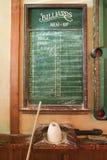 Coda della lavagna per il biliardo. Immagini Stock Libere da Diritti