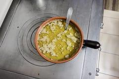 Coda di Bagna Piatto italiano di cucina piemontese Fotografia Stock Libera da Diritti